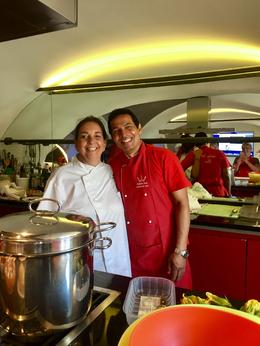 Monica and Roy our instructors .Monica was the Chef , Kathleen P - October 2017