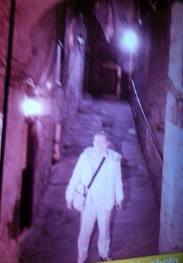 Venturing out on Mary King's Close, one of the most haunted places in Scotland and the world , EDMUND C - January 2014