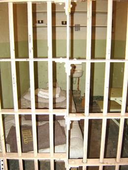 A cell at Alcatraz, part of a very interesting tour, Kim C - August 2009