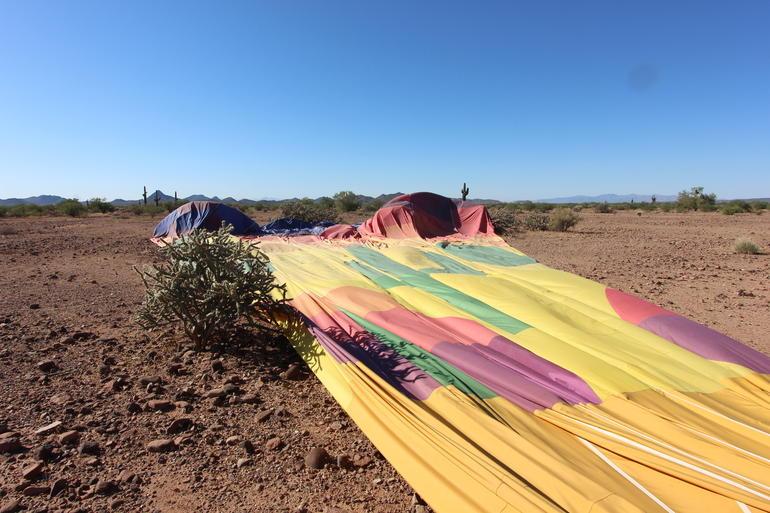 After landing - Phoenix