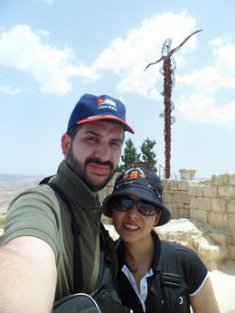 At mount Nebo , Lorenext - May 2014