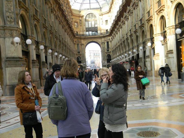 At the Galleria in Milan - Milan