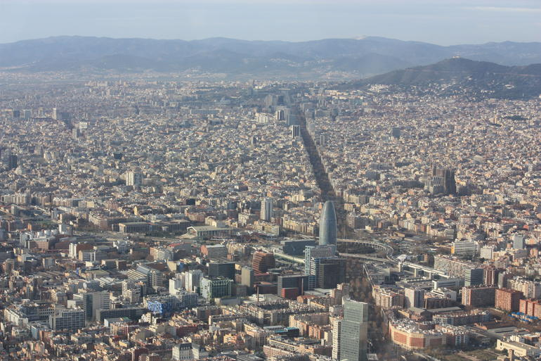 Barcelona City and Coast Helicopter Tour - Barcelona