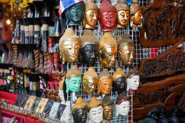 Chatuchak street market in Bangkok, Thailand - June 2011