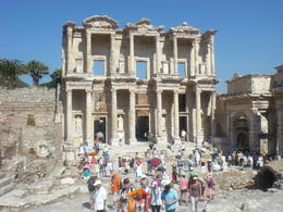 Celsus Library in Ephesus, Turkey, part of our tour! , Victoriap87 - June 2012