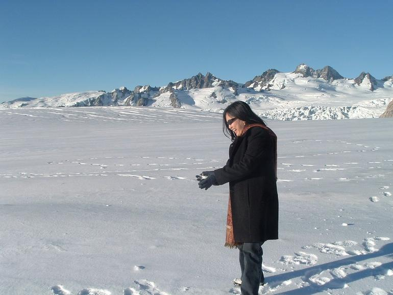 Fox Glacier Snow Landing - Franz Josef & Fox Glacier