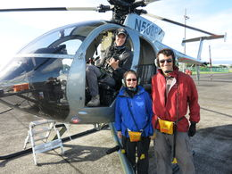 Bruno and I and our pilot. We had a blast, thank you thank you!, Patricia P - December 2014
