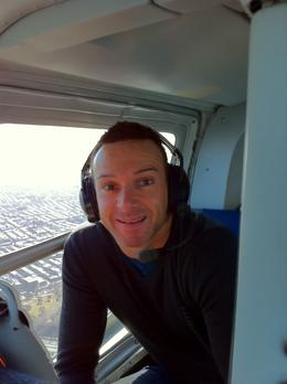 In the helicopter!, Balti-most - July 2011