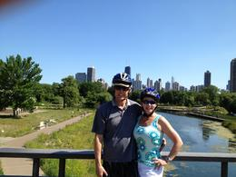 Best of the Chicago skyline behind us. , cherrylc221 - June 2012