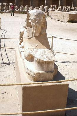 King Tut's contribution to Karnak Temple - May 2008