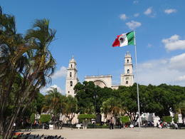 The main plaza of the colonial city of Merida. , Kevin F - May 2013