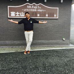 Mount Fuji , VARUN S - June 2016