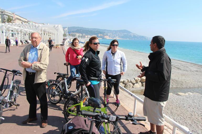 Nice city bike tour - Nice