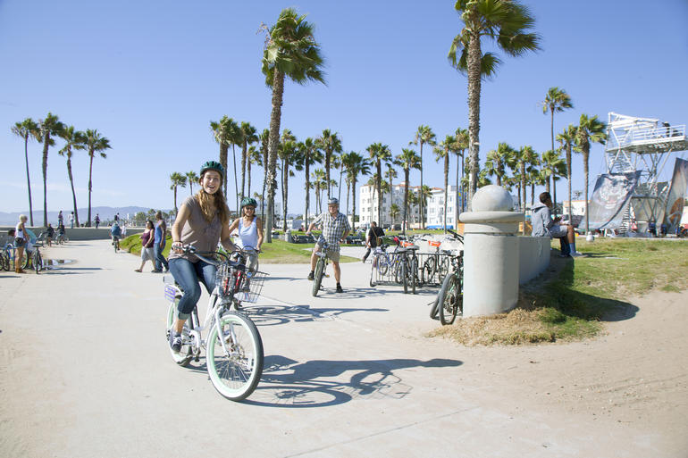 Nothing better than biking at the beach - Los Angeles