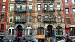 This is the building which Led Zep used for their album cover in Physical Graffiti. , Kai-Chin T - January 2013