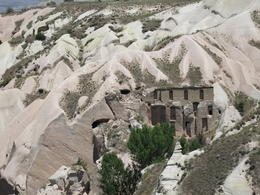 Valley closed to Uçhisar Castle and yes, there are a lot of pigeons!, Patricia P - July 2014