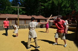 Roman Gladiator School, Jeff - July 2012