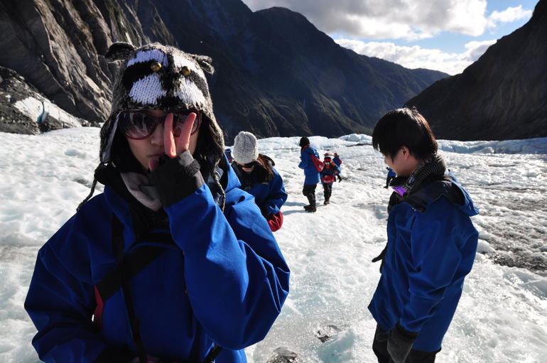 Start walking! - Franz Josef & Fox Glacier