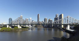 Brisbane Skyline and Story Bridge - May 2011