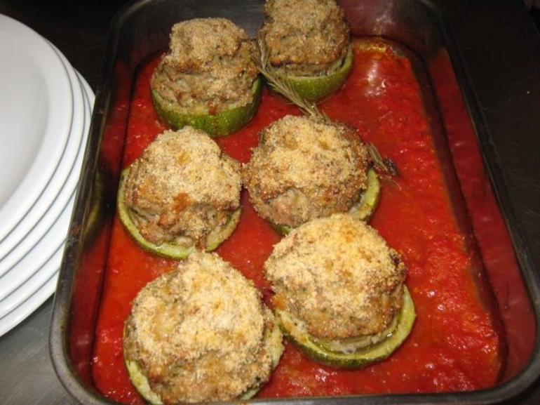 Stuffed Zucchini - Florence