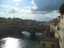Best view of the Arno River from the Uffizi Gallery , Dino D - May 2013