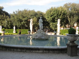 English Garden behind the Borghese Museum , Karen G - May 2013