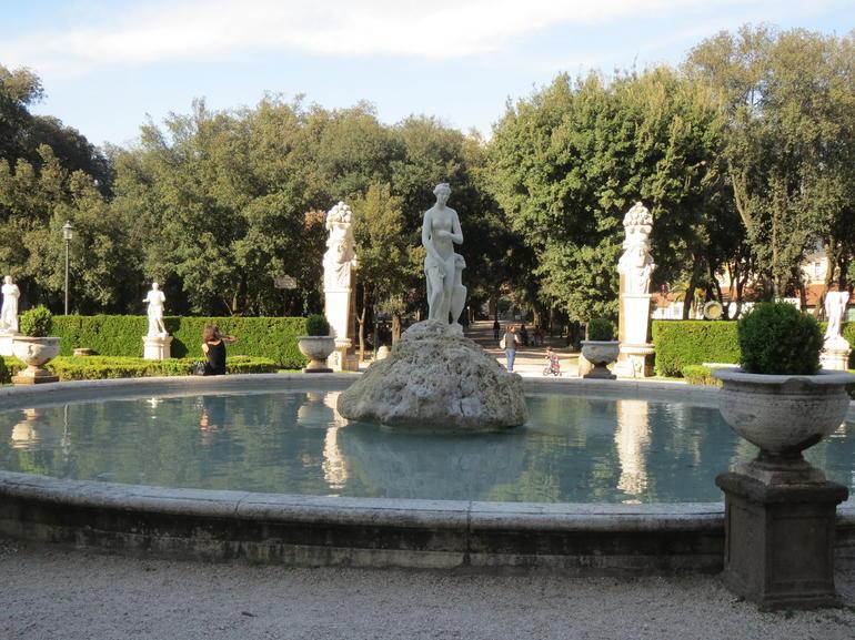 The Borghese gardens - Rome