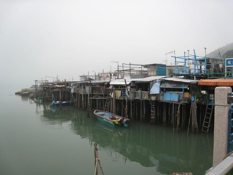 Traditional stilt houses - Hong Kong