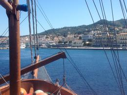 View from the top deck of Galileo , Catherine T - May 2014