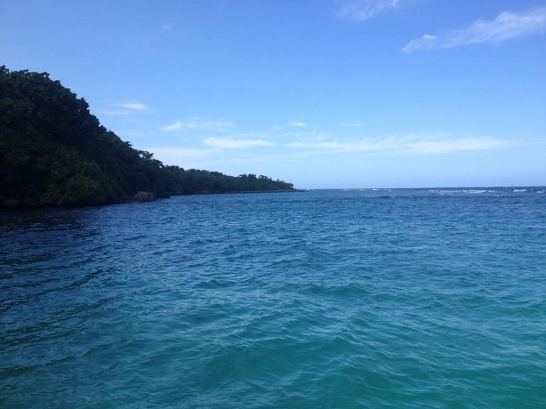 View from the boat - Ocho Rios