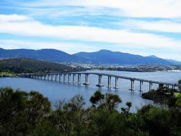 The Tasman Bridge and the Derwent River , Tatyana T - November 2016
