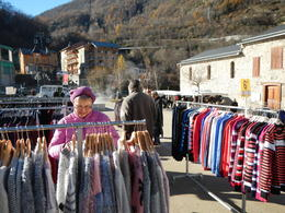 Shopping in Ax les Thermes , Ronald L - December 2016