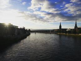 Inverness town, with the River Ness! , Chandini N - June 2017