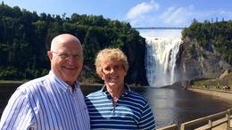 At Montmorency Falls , Margaret M - August 2017