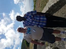 My husband and our tour guide Paul , Joseph D - February 2018