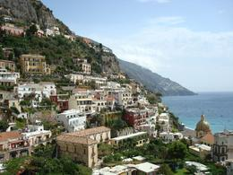 Breath taking view of Positano, one of the beautiful little towns we got to explore during our day tour of the Amalfi Coast. - November 2011