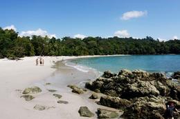 Beach in Manuel Antonio National Park (Costa Rica) - December 2011