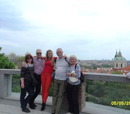 Lovely day in Prague with Kerry Michelle Bill and Terry 5th May 2015 , wccason - May 2015