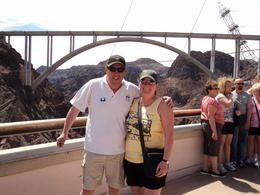 At the Hoover Dam , tanyamc32 - April 2012