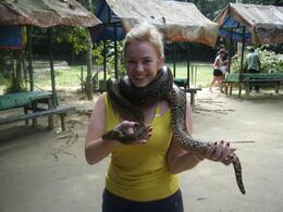 Snakes @ Deer Land , Kathryn S - July 2011