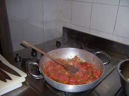 Fresh tomato sauce. , Jill G - May 2012