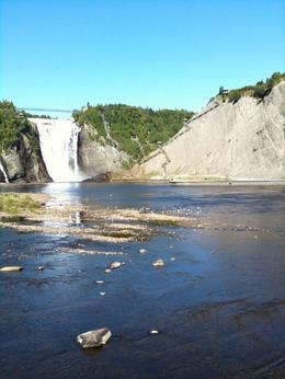 Montmorency Falls near Quebec City - September 2009