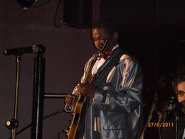 Fantastic young guitarist at the Cotton club. , Sheila - July 2011