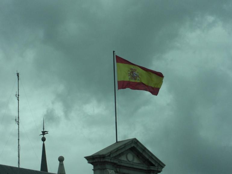 Spain Flag - Madrid