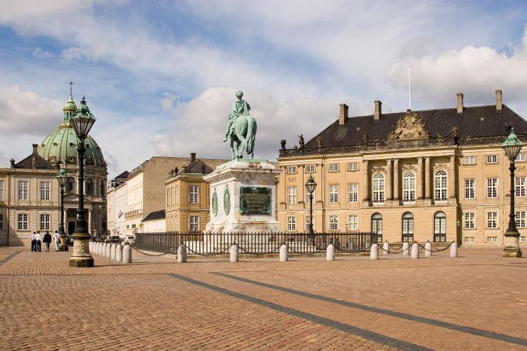 Square in Copenhagen - Copenhagen