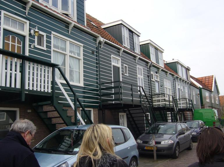 Stilts houses at Marken - Amsterdam