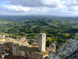 A bell ringer's view of San Gimignano , Christine L - October 2015