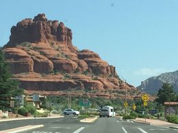Approaching Red Rocks , Denise C - July 2015
