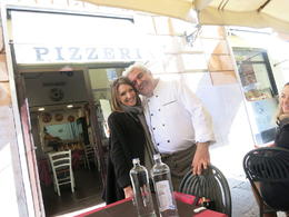 Our guide Emma and Mastro Donato, the man himself. Try the fritti. , Rachel Y - November 2016