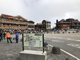 5th Station... Lots of shops and cafes, plus a small temple , David B - October 2017